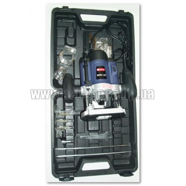 Фрезер ручной электрический в кейсе с принадлежностями Диолд МЭФ 1,25 , фрезерная машина, электро фрезер, фрезер электрический,